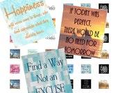 INSPIRATIONAL QUOTE images  Scrabble Tile Digital Design Sheet