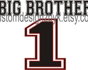 Big Brother 1 iron-on shirt decal transfer NEW by kustomdesignzbyk