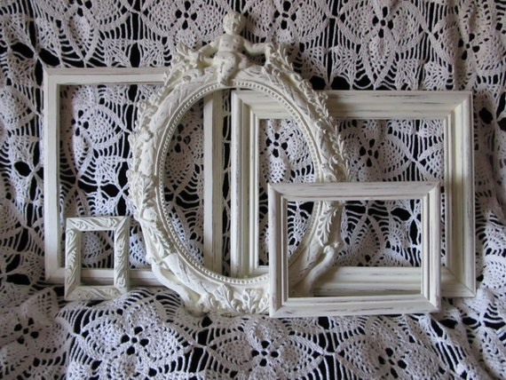 Items similar to picture frames country cottage french for French country beach house