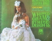 Herb Alpert's Whipped Cream & Other Delights recycled record album book