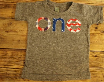 4th of July shirt USA red white and blue patriotic children's shirt organic blend cotton toddler infant