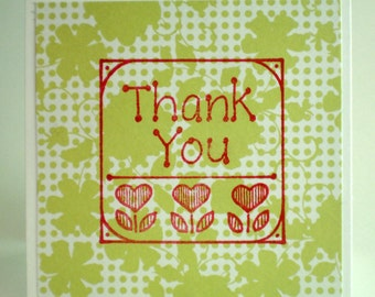 Thank You Cards - Set of Four