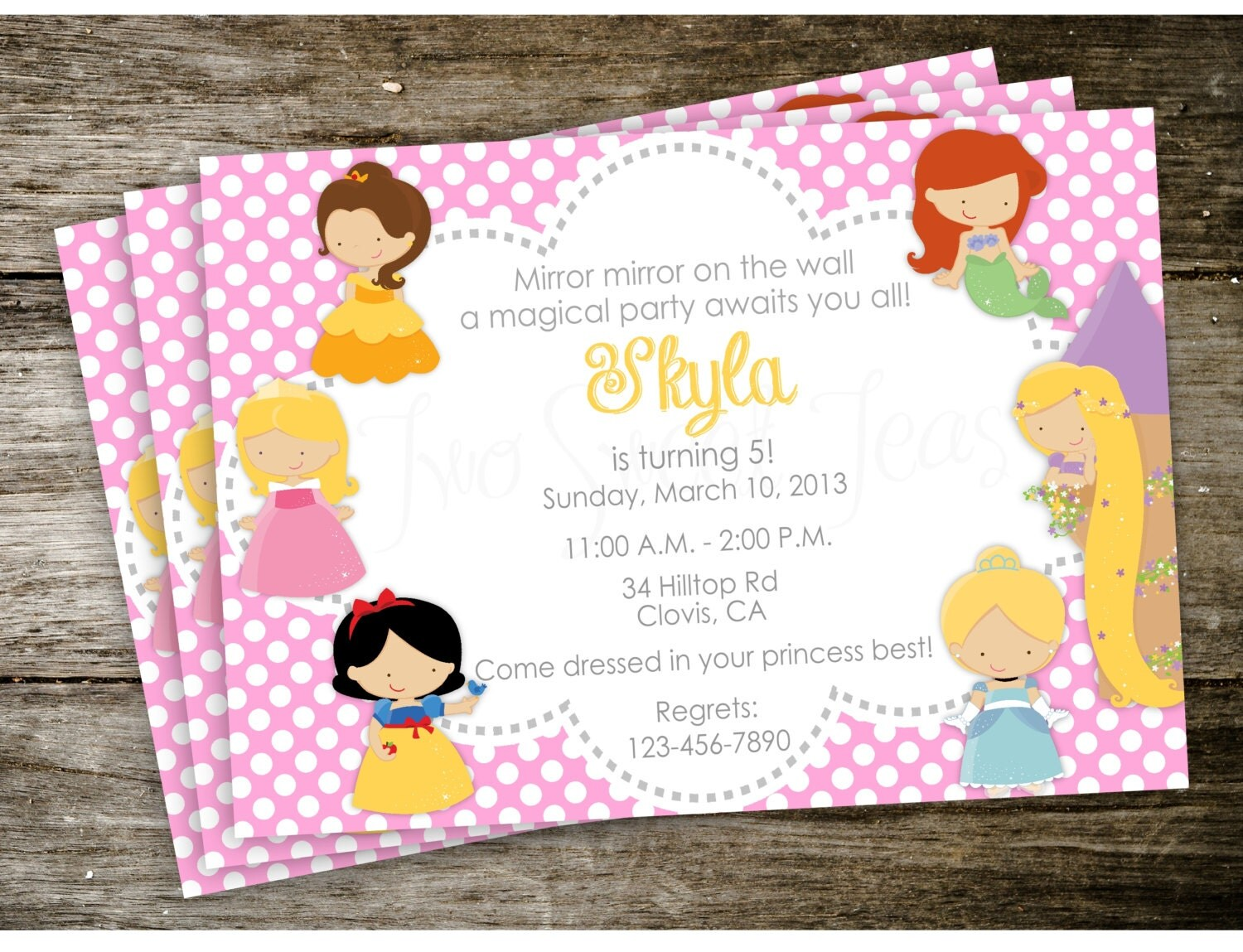 Disney Princess Party Invitations correctly perfect ideas for your invitation layout
