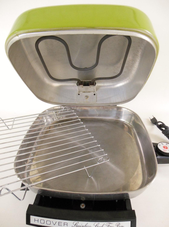 Vintage Hoover Electric Skillet Fry Pan Broiler B3009