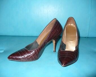Vintage 50's Stiletto Heels
