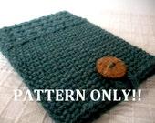 PDF PATTERN Crochet Kindle Paperwhite Cover Kindle Sleeve Case DIY