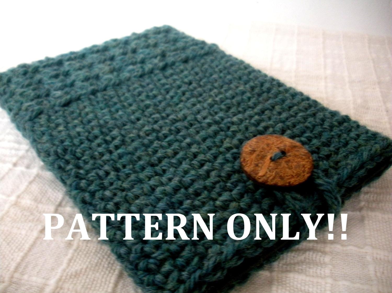 PDF PATTERN Crochet Kindle Paperwhite Cover Kindle Sleeve Case