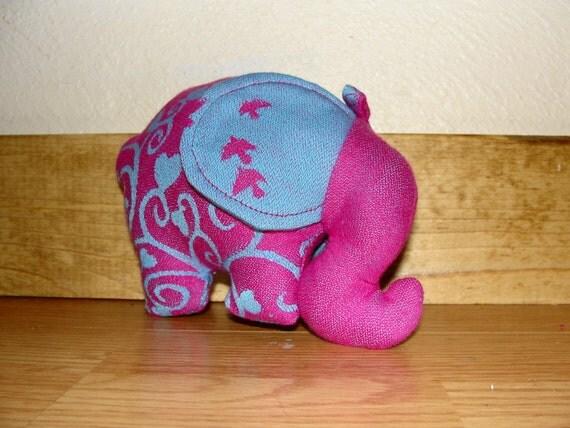 Kokadi Erna im Wunderland wrap scrap Elephant Lovey