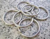 30mm Solid Stainless Steel Key Rings - KRR-30