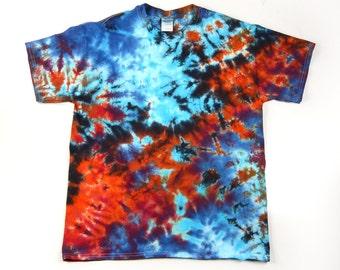 Adult Chai Pani Tie-Dye T-Shirt, Eco-friendly Dyeing