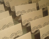 Kraft Lace Design Place Cards