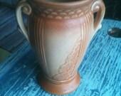 "Robinson Ransbottom Roseville Tionesta 6"" Pottery Vase"