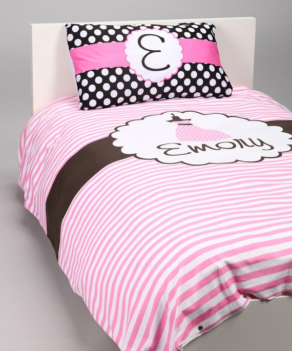 Custom Personaized Full/Queen  Duvet with 2 Pillowcases (Other Sizes/Designs Available)