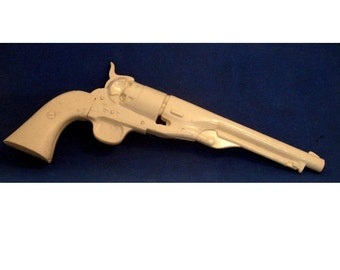Bunkhouse Tools Colt Army Model 1860 Percussion Cap Revolver Holster Mold