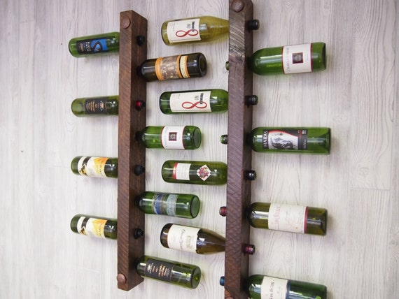 8 Bottle Tuscan Wine Racks, Set of 2