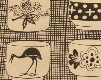 Genmai Tea Cup - Black from Alexander Henry
