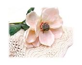 Washcloth Dishcloth Hand Knit CREAMY cream ecru off-white neutral beige luxury organic cotton lace pattern