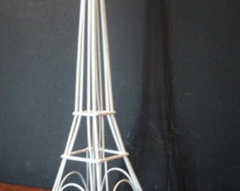 Eiffel TOWER Candle Holder Metal Wedding Centerpiece Mid Century Modern