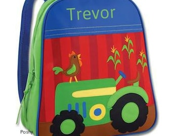 Personalized Backpack  Stephen Joseph GoGo Tractor
