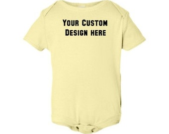 Baby Custom Embroidered Onsie