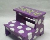 Children's Step Stool (polka dot)
