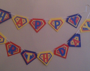 Super Hero Birthday Party Kit