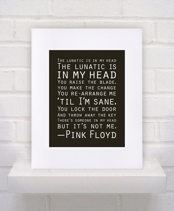 Pink Floyd - Brain Damage Lyrics | SongMeanings