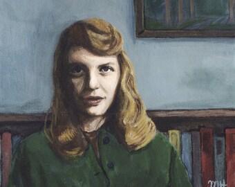 Sylvia Plath: print