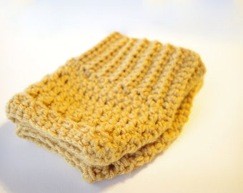 Crochet Boot Cuffs - Boot Topper - Leg Warmer - Choose Your Color