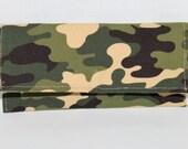 Camouflage Eyeglass Case