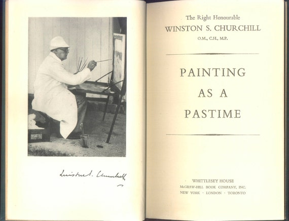 London: Churchill's Painting as a Pastime – The Role of Art in Strategic Vision