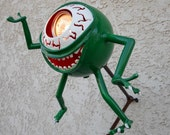 Monster Mike the childrens reading light, ages 5 to 95 yrs. young.