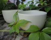 White ceramic Mini Bowl x3