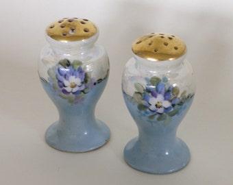 Vintage Porcelain Salt & Pepper Shakers
