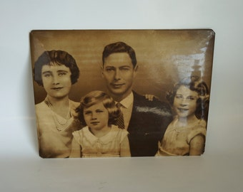 1930s Decorative Memorabilia of Baby Queen Elizabeth and the Royal Family of King George VI