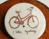 I Like Cycling Badge