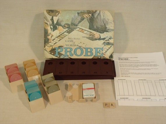 Vintage Probe Board Game Free Shipping 1964 Parker Brothers English Only