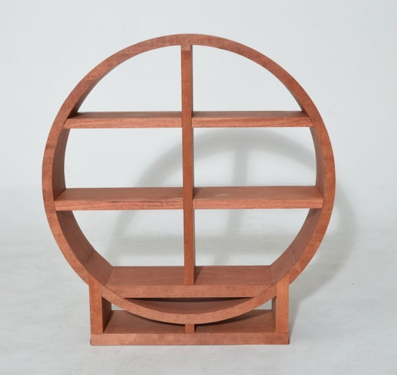 Items Similar To Bookcase Winerack Circular 3 Shelf Wood