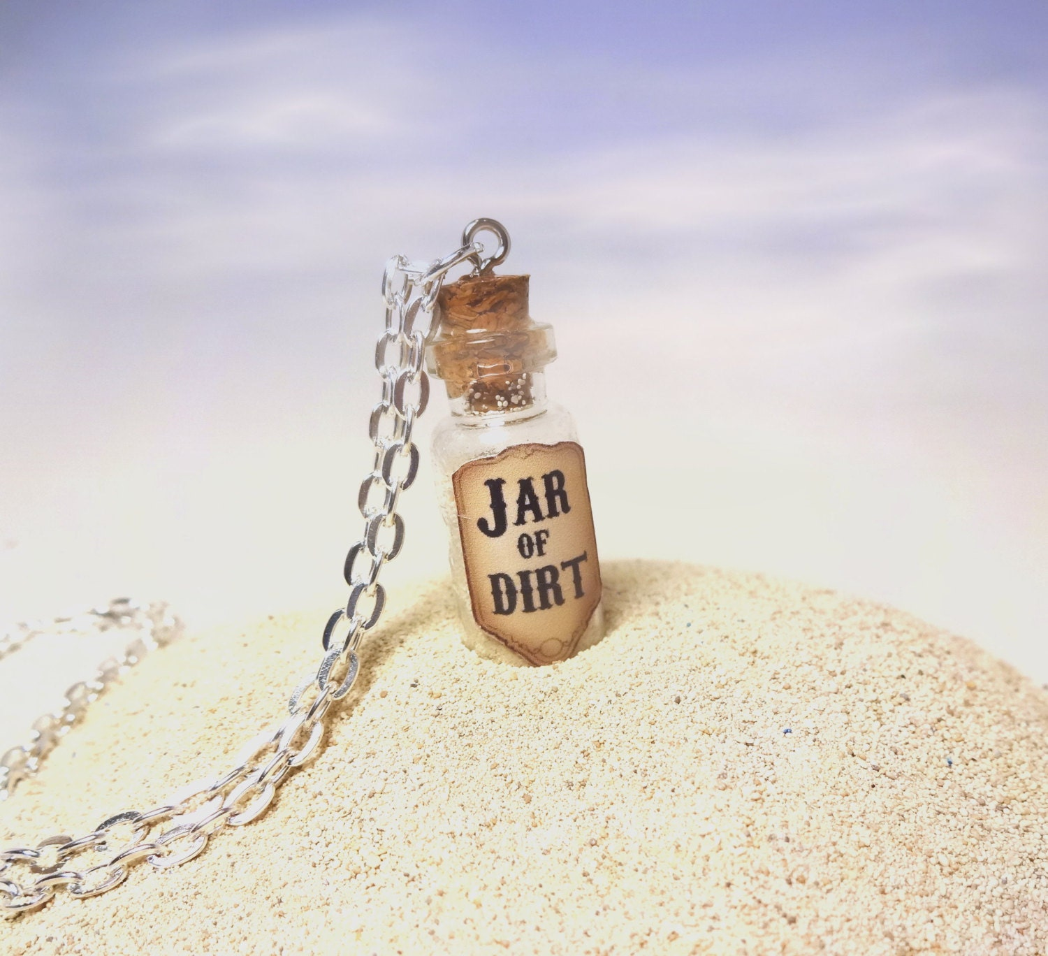 Dirt Bikes And More.jar Jar of Dirt Glass Bottle