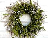 Fall Wreath-Winter Wreath-Rustic Twig Wreath-Spring Door Decor-Home Decor-Housewarming Gift-Year Round Wreath-Custom Gifts-SCENTED Wreath