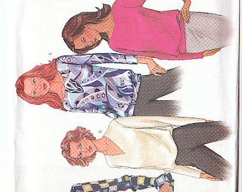 Butterick 3273 Sewing Pattern Blouse Size14-16-18 Check out the Flounce sleeve