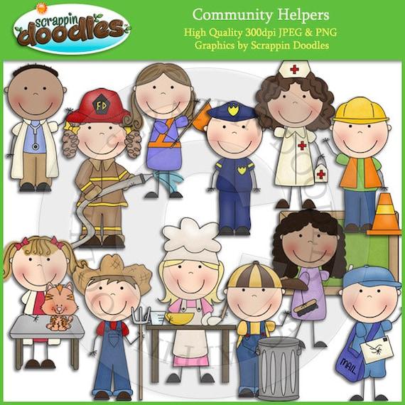 Community Helpers Clip Art Download