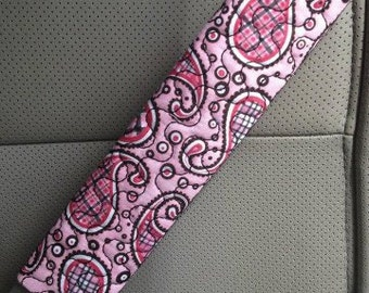 In The Hoop Seat Belt  Strap Covers 6x10