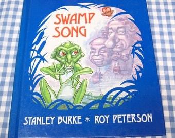 swamp song, vintage 1978 children's book