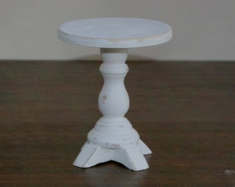 1:6 scale White Sofa Table for OOAK Dollhouse or Diorama (Blythe, Barbie, 12'' Fashion dolls, Bratz, Momoko)