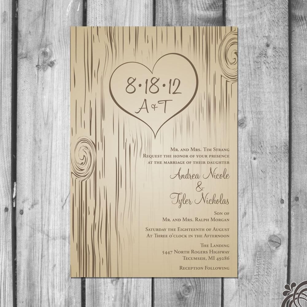 wedding invitation sets etsy - 28 images - formal wedding invitation ...