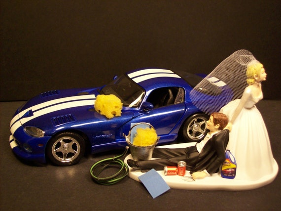 dodge truck wedding cake topper auto car wash dodge viper gt and groom wedding cake 13664