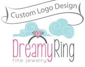 Custom Logo Design Free Preview - unique business branding and watermark - modern boutique logo, photographer logo