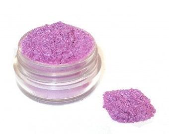 RAMBLING ROSE - Mineral Eye Shadow - Shimmering Pinkish Purple Violet  3 grams or 5 grams