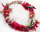 Upcycled Fiber Necklace